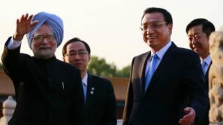 चीन में मनमोहन सिंह