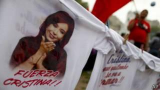 Camiseta de apoyo a Cristina Fernádez
