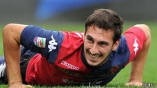 阿斯托里在2011年对阵意大利对阵乌克兰时上演国家队处子秀