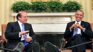 नवाज़ शरीफ और ओबामा