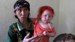 Саша Русева с ребенком