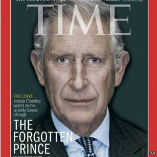 Принц Чарльз на обложке Time © PA