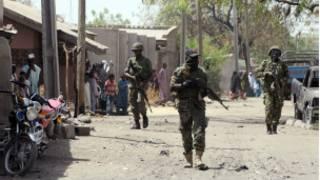 Dakarun tsaro na sintiri a Nijeriya