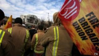 消防員罷工