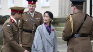 Sandhurst စစ်တက္ကသိုလ်ရောက် ဒေါ်အောင်ဆန်းစုကြည်