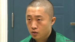Чэнь Юнчжоу (кадр из выступления, показанного по китайскому телевидению)