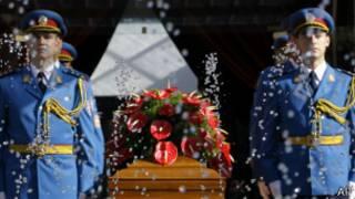 Государственные похороны Йованки Броз, вдовы маршала Тито