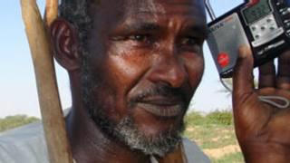 Msikilizaji wa redio Somalia