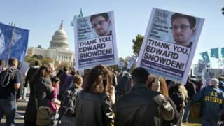 مظاهرة احتجاج ضد وكالة الأمن القومي الأمريكي