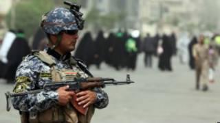 الولايات المتحدة يغادر العراق وهم مفتت