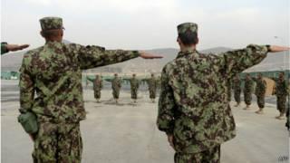 Открытие военной академии в Кабуле