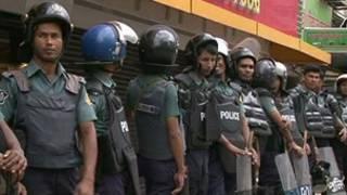Enfrentamientos en Bangladesh