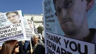المتعاقد الأمريكي السابق في وكالة الأمن القومي، إدوارد سنودن