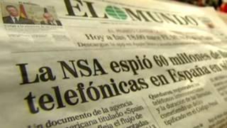 स्पेनिश भाषा का एल मुंडो अख़बार