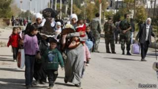 اللاجئون في سوريا