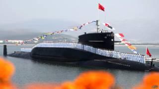 Tàu ngầm hạt nhân thuộc hạm đội Biển Bắc của Trung Quốc