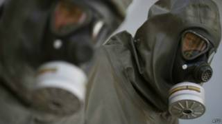 Vũ khí hóa học Syria