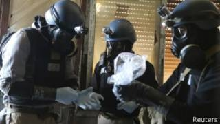 Abagenzuzi b'intwaro z'uburozi muri Syria