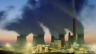 Электростанция, работающая на угле