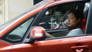 चीन महिला ड्राइवर