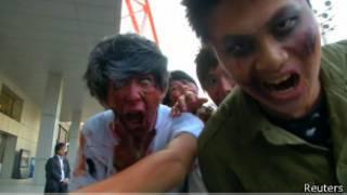 Zombie di Tokyo, Reuters