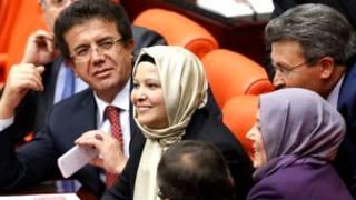 Mayafi a majalisar Turkey