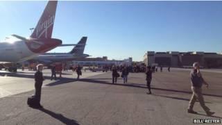 ВПП аэропорта Лос-Анджелеса