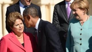 Obama, da Rossef da Merkel