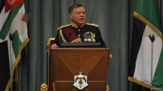 الملك عبدالله الثاني ملك الأردن