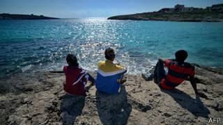 Wahamiaji Lampedusa