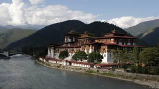 Paisaje en Bután
