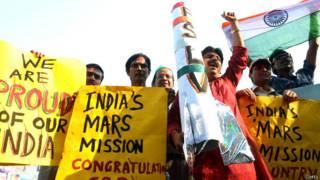भारतीय मंगल अभियान, मंगलयान की सफ़लता