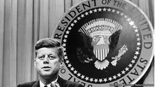 Tổng thống Kennedy hồi tháng Tám năm 1963
