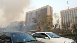 Взрывы в Тайюане