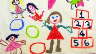 Tranh vẽ của trẻ em một trường sơ cấp ở London