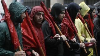 إضراب اليونان