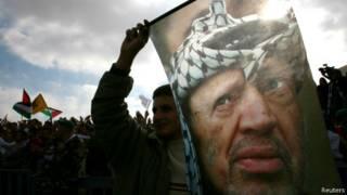 Yasser Arafat, ex-líder palestino | Crédito: Reuters