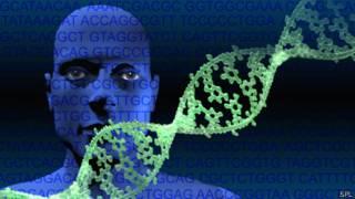 Genoma de un hombre