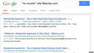 नो मुस्लिम विज्ञापन, प्रॉपर्टी विज्ञापन, 99 एकड़ डॉट कॉम, 99acre.com