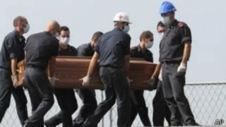 ضحايا قارب جزيرة لامبيدوسا