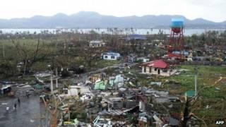 Филиппины тайфун шторм