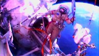 الشعلة الأولمبية تسبح في الفضاء
