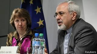 محمد جواد ظریف و کاترین اشتون