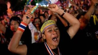 Protes di Thailand