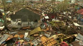 Destrucción en Filipinas