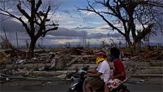 Birnin Tacloban ne mahaukaciyar guguwar tafi barnatawa.