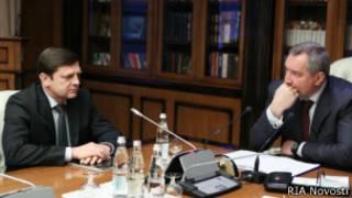 Олег Остапенко и Дмитрий Рогозин