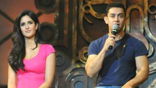 'धूम-3' के प्रमोशन पर पहुंचे आमिर ख़ान और कटरीना कैफ़.