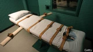 Камера в техасской тюрьме, где казнят осужденных