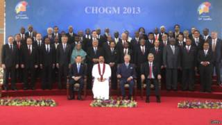 عکس رسمی شرکت کنندگان در اجلاس کلمبو